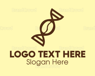Biology - DNA Coffee logo design