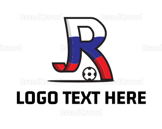 Soccer - Letter R Soccer logo design