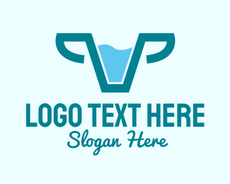 Dairy Farmer - Fresh Cow Milk  logo design