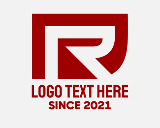 Company - Business Red Letter R logo design