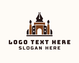 Temple - Art Temple logo design