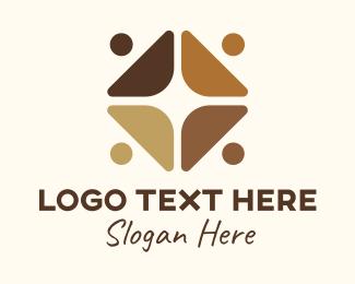 Togetherness - Social Justice Emblem  logo design