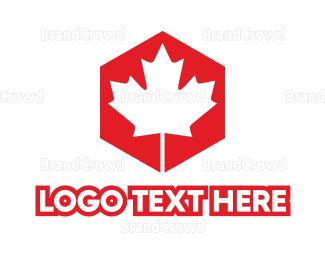 Canadian - Canadian Hexagon logo design