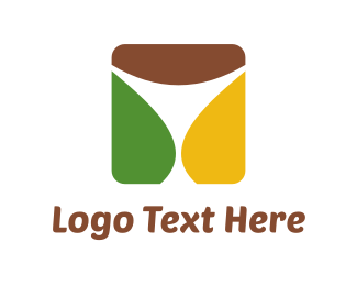 Pub - White Glass logo design