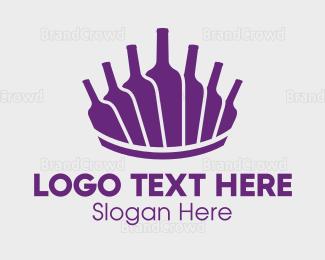 """Wine Bottles"" by LogoBrainstorm"