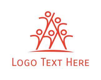 Leadership - People Team logo design
