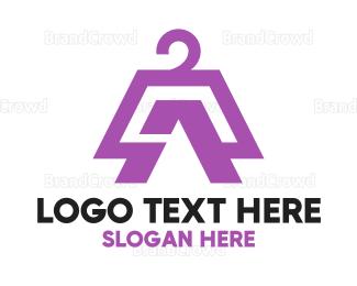 Coat - Coat Hanger logo design
