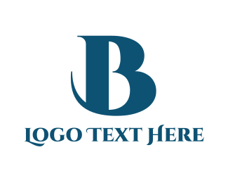 Sophisticated - Elegant Blue B logo design