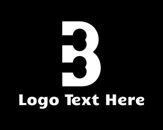 Orthopedic - Bone Letter B logo design