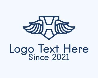 Airline - Airline Letter H logo design