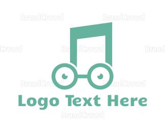 Nerd - Music Nerd logo design