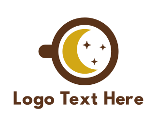 Starry - Starry Midnight Coffee logo design