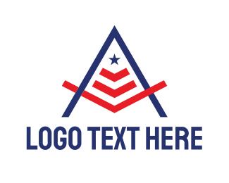 Sovereign - American Masonry A logo design
