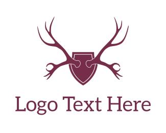 Hunting - Chill Moose logo design