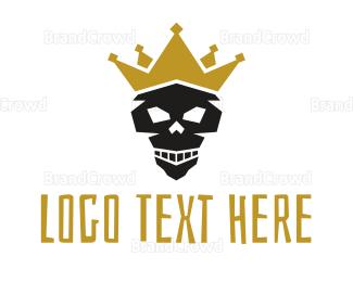 King - Skull King Gaming logo design