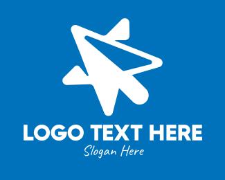 Click - Star Mouse Pointer logo design