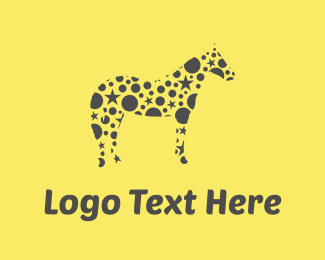 Deco - Star Horse logo design