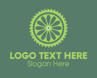 Saw - Lime Slice logo design