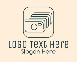 Photo - Photo Camera Album logo design