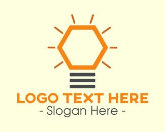 Light - Modern Light Bulb logo design