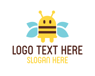 Plug - Bee Plug logo design
