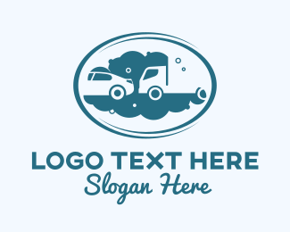 Auto - Auto Car Truck Wash  logo design