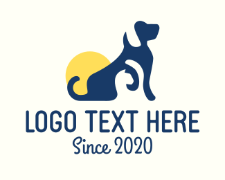 Veterinary - Dog & Cat Veterinary logo design