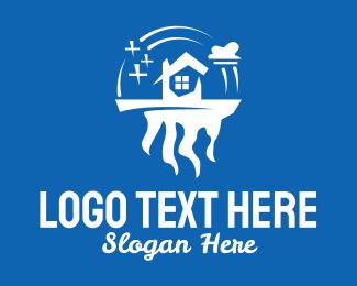 Sparkles - White House Landscape  logo design