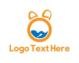 Fishbowl - Animal Letter O logo design