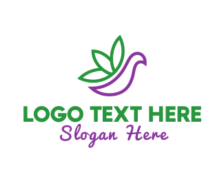 Cbd - Cannabis Bird logo design