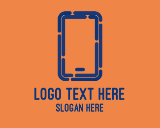 Mobile Phone - Tech Mobile Phone logo design