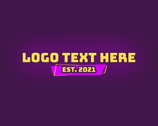 Cartoon - Cartoon Text Wordmark logo design