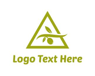 Olive - Olive Triangle logo design
