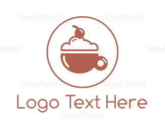 Cherry - Cherry Drink Cafe logo design