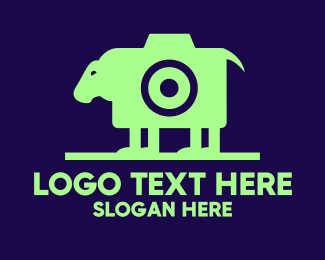 Instagram - Sheep Camera  logo design