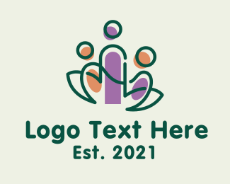 Vegan - Vegan Nature People logo design
