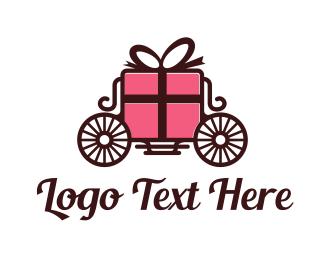 Gift Box - Royal Gifts logo design
