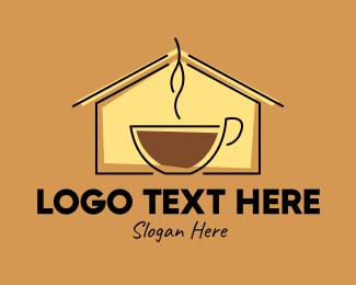 Roasted - Espresso Coffee House logo design