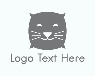 Nap - Pillow Cat logo design