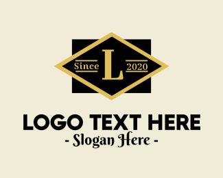 Art Deco - Classic Geometric Lettermark  logo design