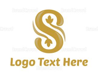Beautify - Shiny Flower S logo design