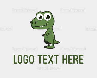 Dino - Cute Dino logo design