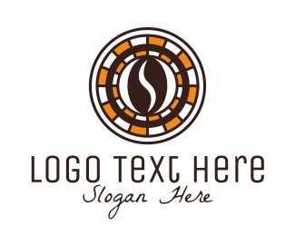 Blackjack - Coffee Bean Poker  logo design
