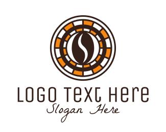 Gamble - Coffee Bean Cafe logo design
