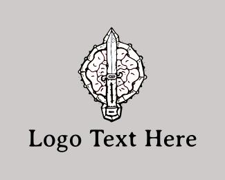 Sword - Sword & Shield logo design