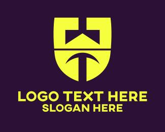Bright - Screw Letter U logo design
