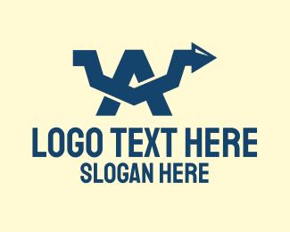 Stock Market - Stock Market Letter A logo design