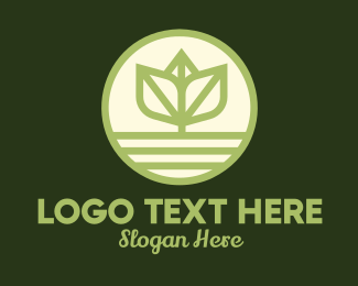 Soil - Leaf Stalk Ground logo design