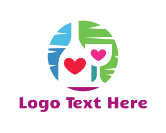 Pub - Love Bar logo design
