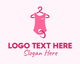 Mart - Pink Kids Baby Clothing Apparel logo design
